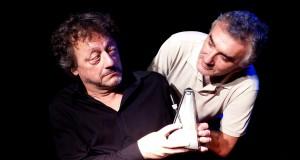Riccardo Barbera e Giancarlo Fares in EINSTEIN E IL SEGRETO DI STRADIVARI