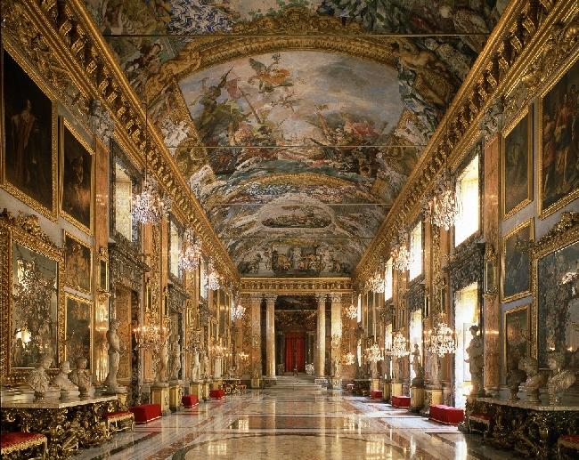La ricchezza della galleria pamphilj imbandisce una tavola for Corso di arredatore d interni roma