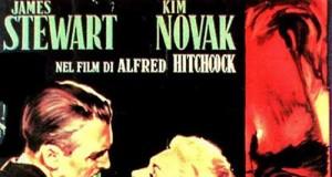 """Locandina de """"La donna che visse due volte"""" di Hitchcock ovvero """"Vertigo"""""""