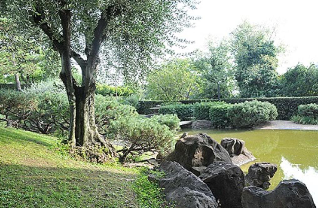 L anima del giappone nel cuore di roma il fascino del giardino a