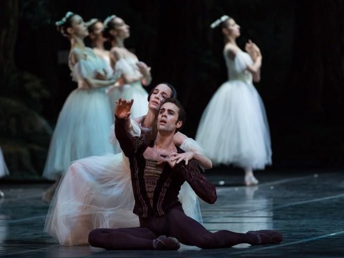 Amandine Albisson e Mathias Heymann in Giselle al Teatro dell'Opera di Roma - 2015