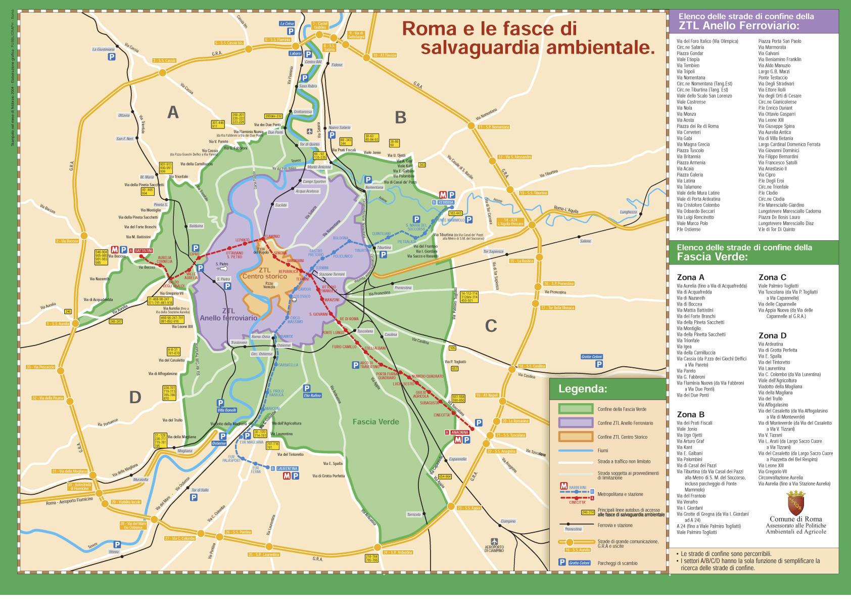 FASCIA VERDE ROMA EBOOK