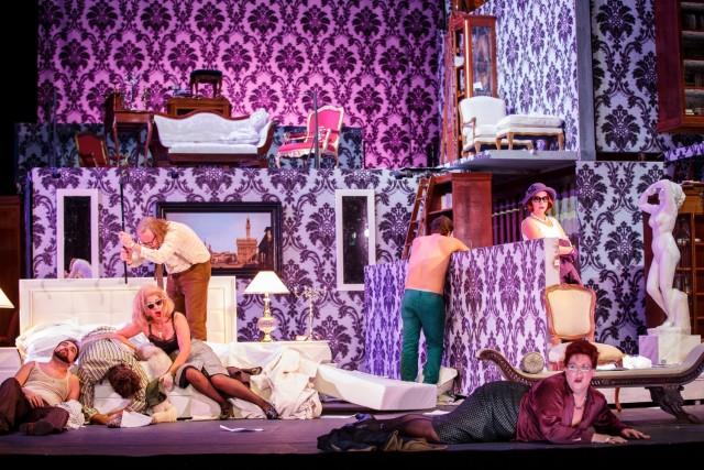 Il Trittico, di Giacomo Puccini, regia Damiano Michieletto, Teatro Nazionale a Roma - Foto Werner Kmetitsch
