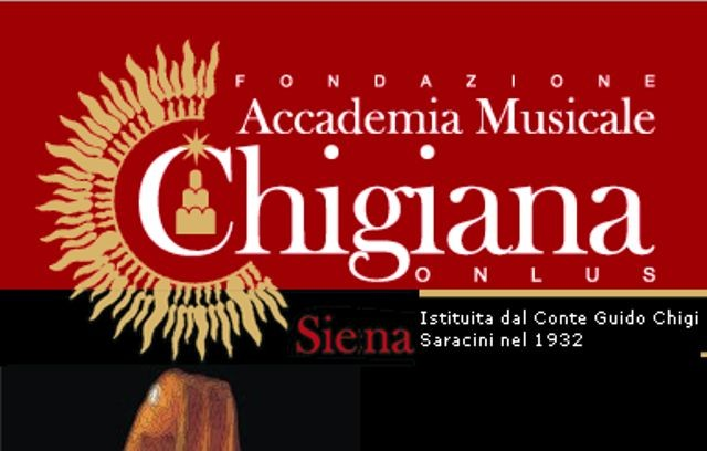 A Siena, Chigiana International Festival and Summer Academy 2016: