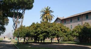 Il giardino di Sant'Alessio, location di Legal'Arte, la prima rassegna di arte contemporanea in collaborazione con la Polizia di Stato