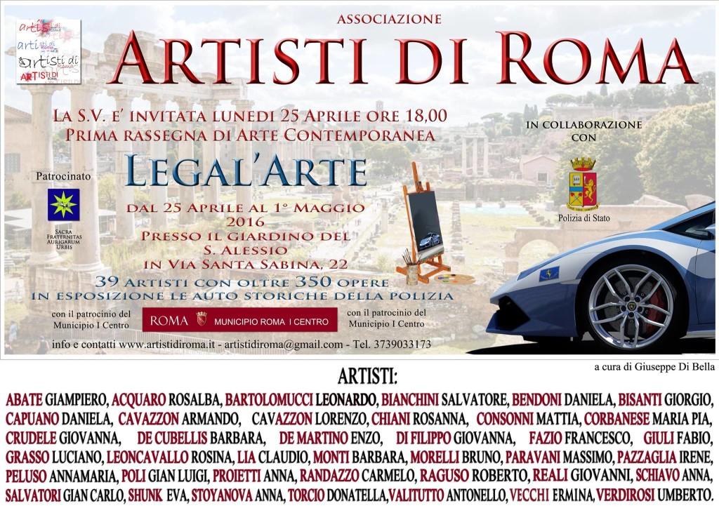 Legal'Arte, la prima rassegna di arte contemporanea in collaborazione con la Polizia di Stato