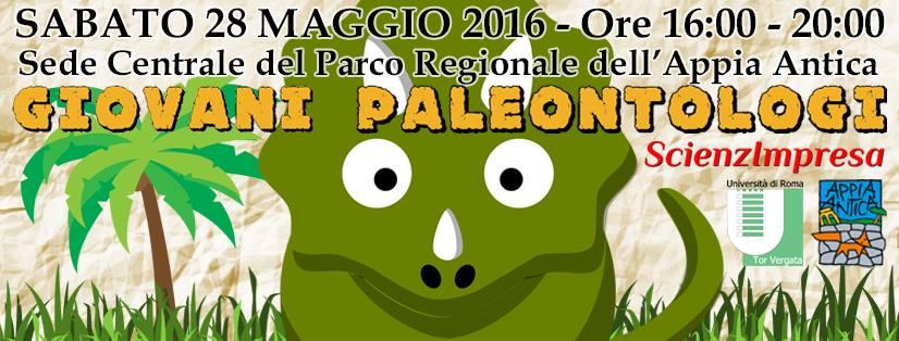 """""""Piccoli Paleontologi"""" al Parco Regionale dell'Appia Antica"""