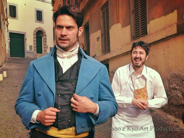 Visite guidate teatralizzate a Roma, proposte da I Viaggi di Adriano e Kyo Art