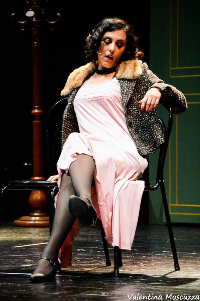 Anita Tenerelli in Welcome to Berlin al Teatro della Cometa