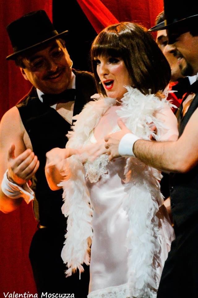 Emma Gordon, Danny Senese, Andrea Carrera, Edoardo Feola in Welcome to Berlin al Teatro della Cometa