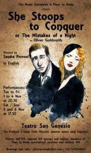 """Teatro in inglese, al San Genesio arriva """"She stoops to conquer"""" di Oliver Goldsmith @ Teatro San Genesio"""