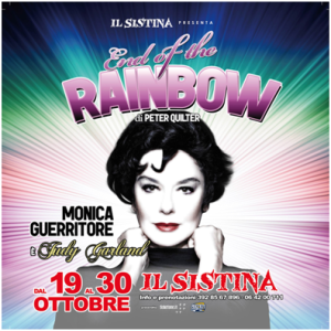 "Monica Guerritore è Judy Garland in ""End of the rainbow"" @ Teatro Sistina"