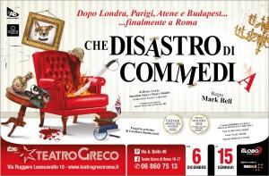 """""""Che disastro di commedia"""", la piece pluripremiata al Teatro Greco di Roma con Gianluca Ramazzotti @ Teatro Greco"""
