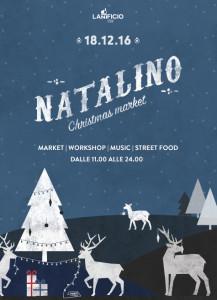 Lanificio per Natale, il 18 dicembre arriva Natalino Christmas Market @ Roma | Lazio | Italia