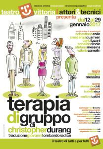 """""""Terapia di gruppo"""". Al teatro Vittoria arriva una commedia, cinica, divertente e molto Alleniana @ Teatro Vittoria"""