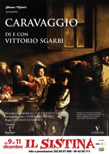 Vittorio Sgarbi al Sistina ci svela il mistero Caravaggio @ Sistina