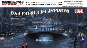 """""""Una favola da asporto"""" con Massimo Mirani al Teatro San Paolo"""