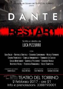 Dante – Restart di Luca Pizzurro in scena al Teatro del Torrino
