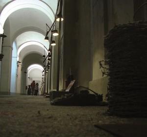 Gimmi Basilotta espone le sue opere al Teatro di Villa Torlonia