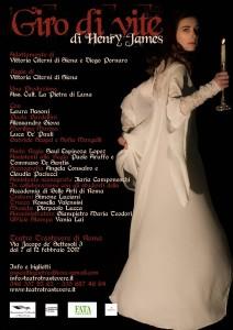 """Giro di vite"", regia di Vittoria Citerna, al Teatro Trastevere @ Teatro Trastevere"