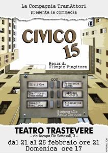"""Una riunione di condominio, un ascensore da scegliere… è """"Civico 15"""" al Teatro Trastevere @ Teatro Trastevere"""