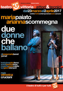 Due donne che si odiano, due donne che si somigliano. Al Vittoria un testo di Josep Maria Benet i Jornet @ Teatro Vittoria