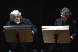 """Glauco Mauri e Roberto Sturno al Ghione di Roma con: """"Il canto dell'usignolo, poesia e teatro di Shakespeare"""" @ Teatro Ghione"""