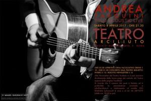 Andrea Tarquini in Unplugged @ Teatro Arciliuto