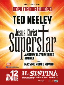 """Jesus Christ Superstar"" al Sistina dal 12 aprile @ Sistina"
