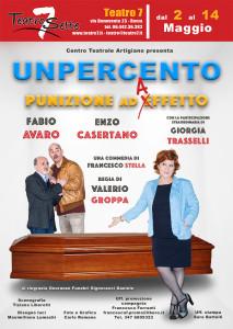 """La commedia degli equivoci """"Unpercento - Punizione ad Affetto"""", un mare di risate al Teatro 7 @ Teatro 7"""