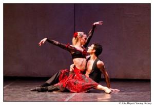 Eleonora Abbagnato balla Carmen al Teatro Romano di Ostia Antica @ Teatro Antico