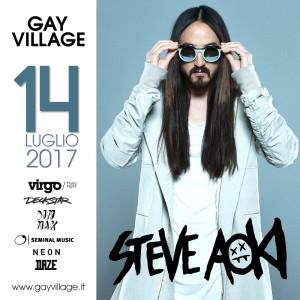 Steve Aoki al Gay Village