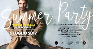 Fabrique du Cinema Summer Party all'Ex Dogana