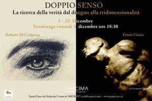 """""""Doppio senso"""", la nuova mostra a SpazioCima: due stili diversi, una sola verità"""