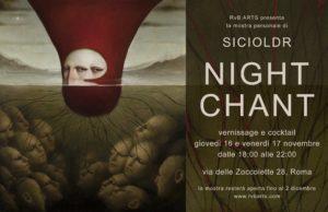 """Alessandro Sicioldr e la sua personale alla RvB Arts """"Night Chant"""""""