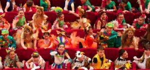 La Divina Commedia per i bambini all'Argentina
