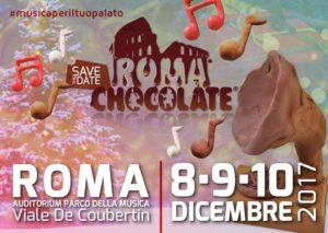 Dall'8 al 10 dicembre Roma si riempie di cioccolato