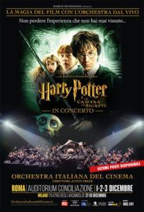 Harry Potter e la Camera dei Segreti in cine-concerto