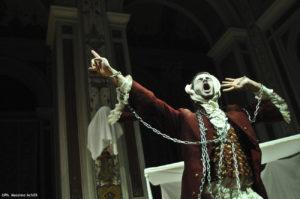 """Tiziano Panici rilegge un classico del Natle """"A Christmas Carol"""" di Dickens all'Argentina di Roma"""
