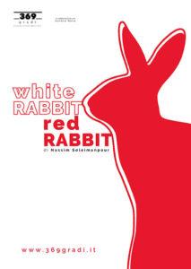 """Antonio Catania in scena al Vascello con """"White rabbit red rabbit"""""""