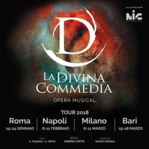 """""""La Divina Commedia"""", il musical al Brancaccio"""