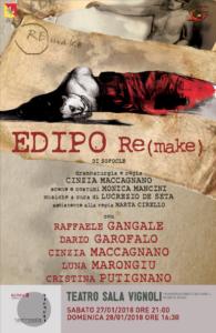 Edipo Re, un remake al Sala Vignoli de La Bottega del Pane