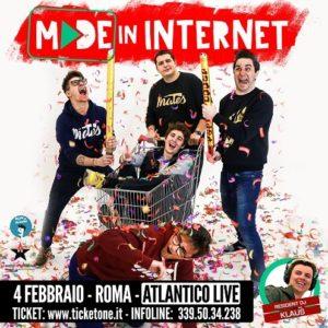 """""""Made in internet"""", lo show con Favij e Mates"""