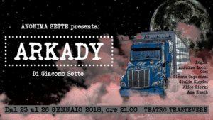 """""""Arkady"""", la storia di un poeta che guida il camion al Trastevere di Roma"""
