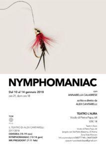 """Alex Cantarelli in scena al Teatro L'Aura con """"Nymphomaniac"""""""