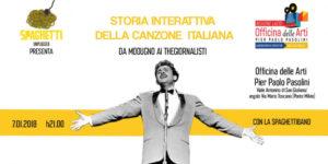La storia della canzone italiana con la Spaghettiband