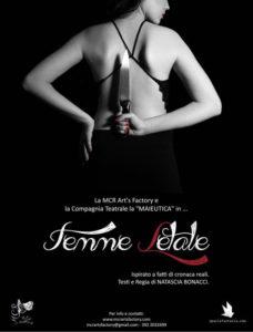 """""""Femme letale"""" di Natascia Bonacci al Teatro L'Aura, il lato oscuro delle donne"""