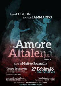 """Matteo Fasanella porta in scena """"Un amore in altalena"""" al Teatro Trastevere"""