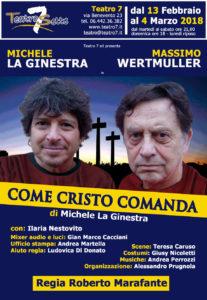 """Michele La Ginestra e Massimo Wertmuller in """"Come Cristo comanda"""""""