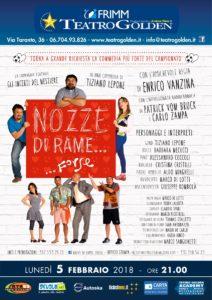 """"""" Nozze di Rame… Forse"""" di Tiziano Lepone e diretto da Enrico Vanzina"""